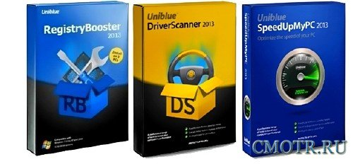 Uniblue Software 2013 ( SpeedUpMyPC 2013 Build 5.3.3.0/RegistryBooster 2013 Build 6.1.0.9/DriverScanner 2013 Build 4.0.9.10)