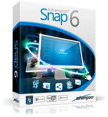 Ashampoo Snap 6.0.4 Portable (RUS/ENG) 2013