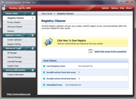 WinASO Registry Optimizer 4.8.1.0 Portable (RUS/ENG) 2013