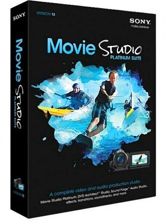 SONY Movie Studio Platinum 12.0.755 / 12.0.756