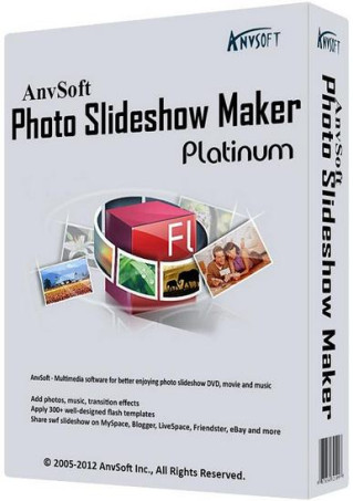 AnvSoft Photo Slideshow Maker Platinum 5.55 (RUS/ENG) 2013