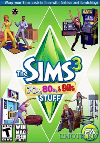 The Sims 3: 70s 80s & 90s Stuff (2013/RUS/ENG/MULTI34/DLC)