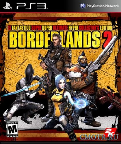 Borderlands 2 (2012/PS3/PAL/ENG/RePack by Afd)