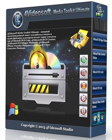 4Videosoft Media Toolkit Ultimate 5.0.36.9310 Portable by SamDel