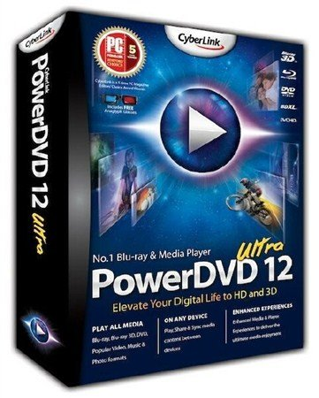 CyberLink PowerDVD Ultra 12.0.2428.57 Final