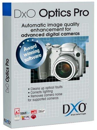 DxO Optics Pro 8.1.3 Build 229 Elite
