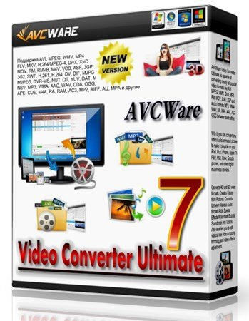 AVCWare Video Converter Ultimate 7.7.2.2013228