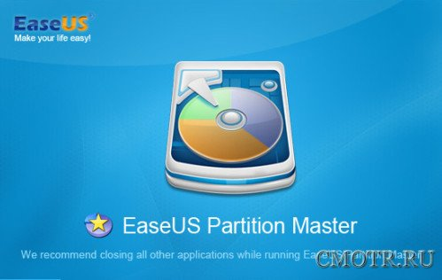 EaseUS Partition Master Professional Edition 9.2.1.0 (ENG)