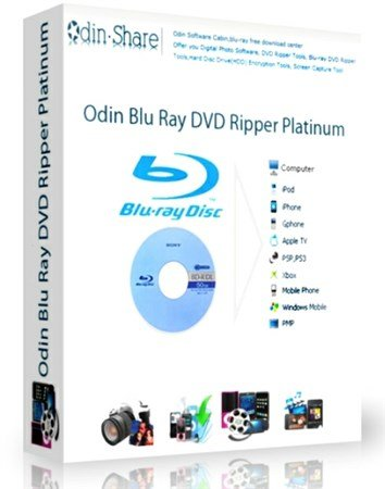 Odin Blu-ray DVD Ripper Platinum 9.8.2