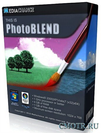 Mediachance Photo Blend 3D 2.0.2 Final (RUS/ENG)
