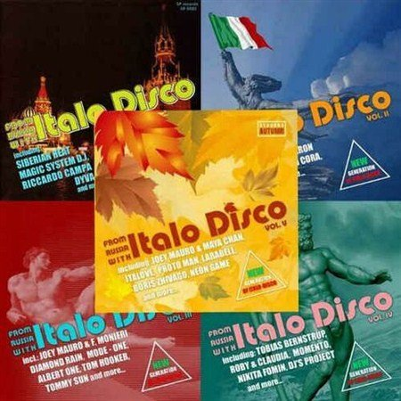 From Russia With Italo Disco Vol. 1 - 5 (2012)