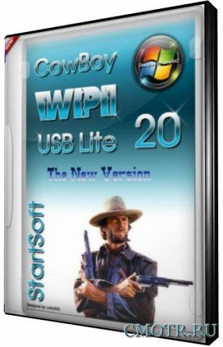 CowBoy WPI USB Lite New StartSoft 20 x86x64 (2013) [Русский]