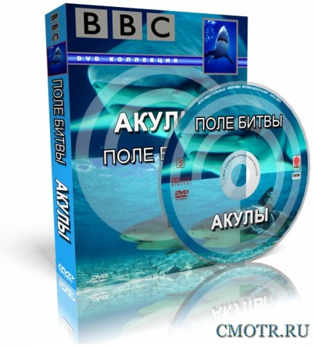BBC: Акулы. Поле битвы / Shark Battlefield (2002) DVDRip-AVC