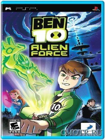 Ben 10 Alien Force (2008) (ENG) (PSP)