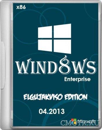 Windows 8 Enterprise x86 Elgujakviso Edition (2013) [Русский]