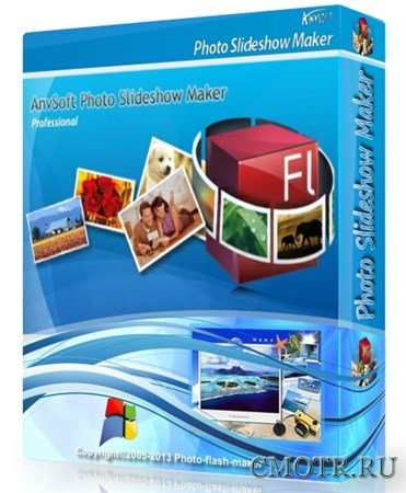 AnvSoft Photo Slideshow Maker Professional 5.56 Portable by SamDel (MULTi/RUS)