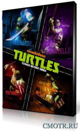 Черепашки-ниндзя / Черепашки Мутанты Ниндзя / Teenage Mutant Ninja Turtles [01-19 из 26] (2012) WEB-DLRip