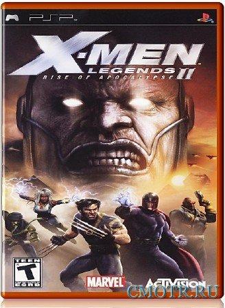 X-Men Legends II Rise of Apocalypse (2005) (RUS) (PSP)