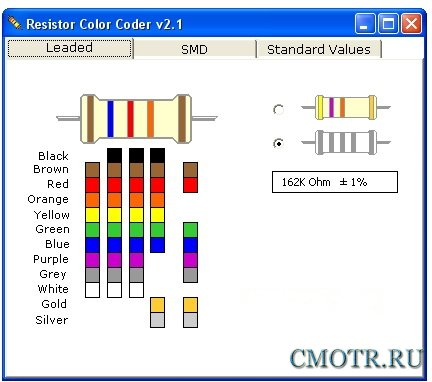 Resistor Color Coder 2.1 Portable